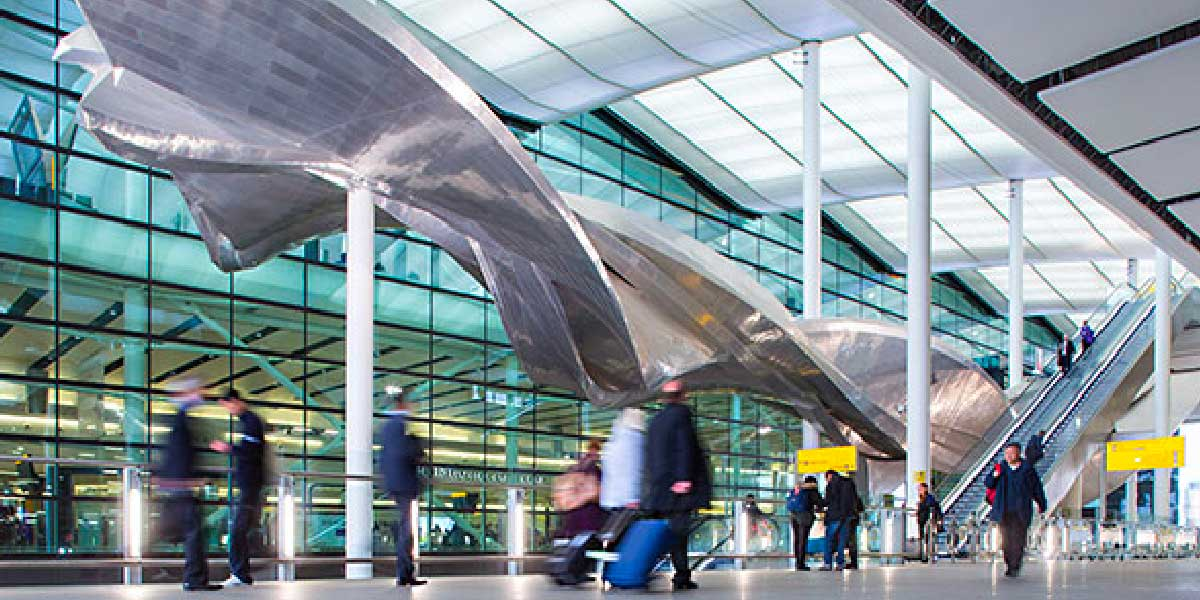Fear of flying courses at London Heathrow